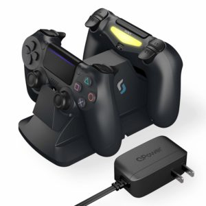 Sliq Gaming PlayStation 4 Controller Charger Station – Black