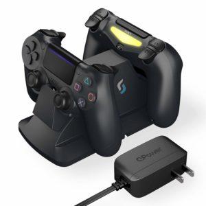 Sliq Gaming PlayStation 4 Controller Charger Station – Black