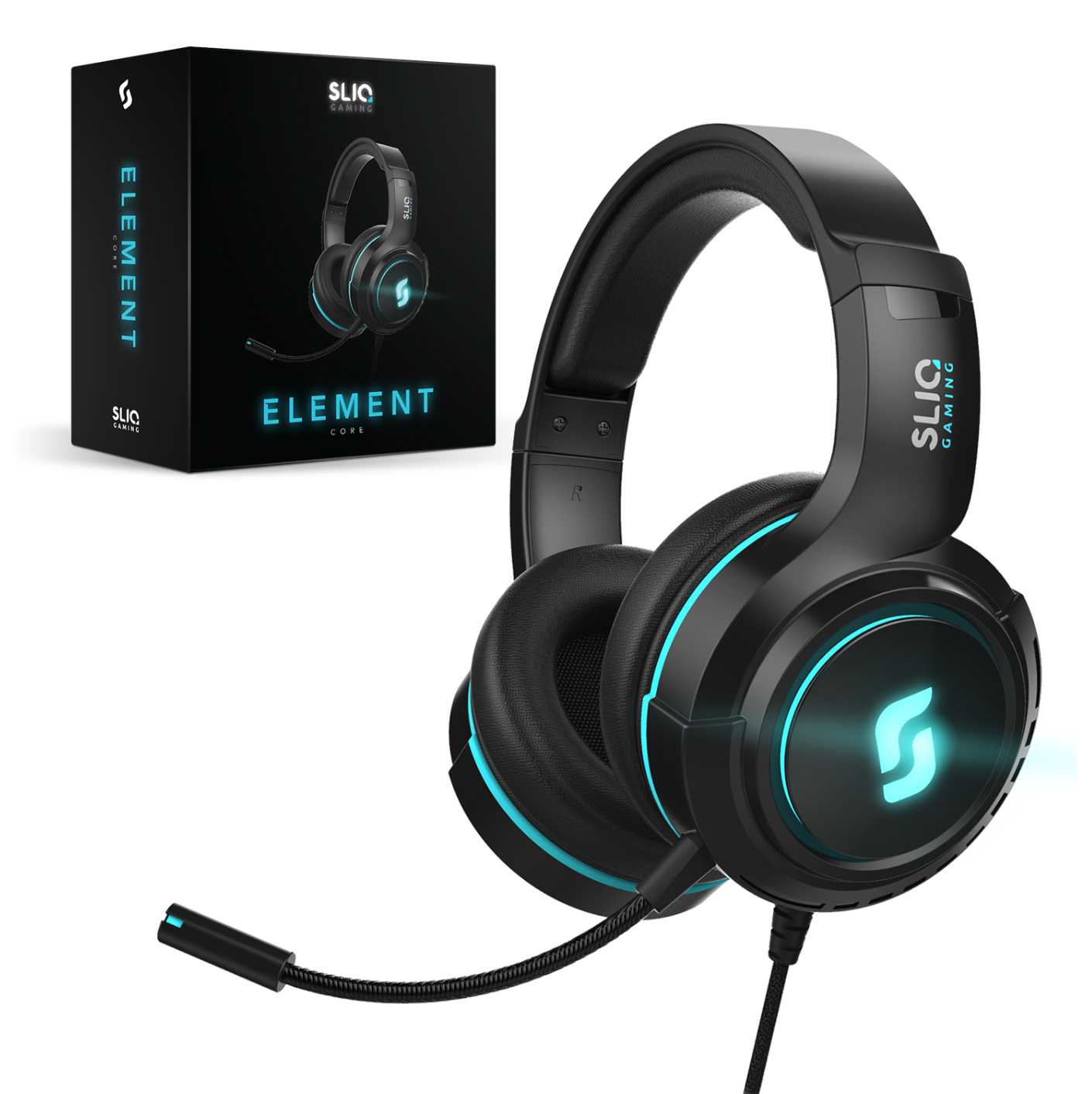 Sliq Gaming Element Core Headset
