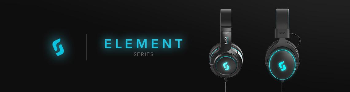 Sliq Gaming Element Series Headset Banner