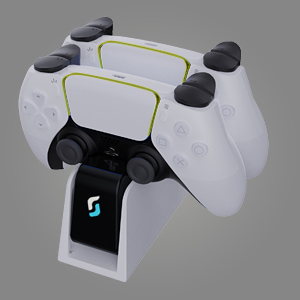 ps5 controller charger station status lights